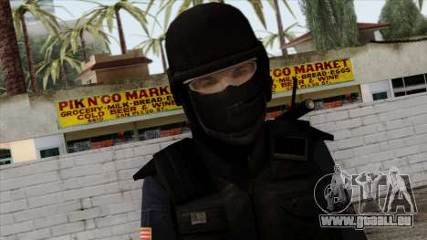 Police Skin 12 pour GTA San Andreas troisième écran