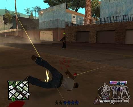 COSMOS C-HUD pour GTA San Andreas troisième écran