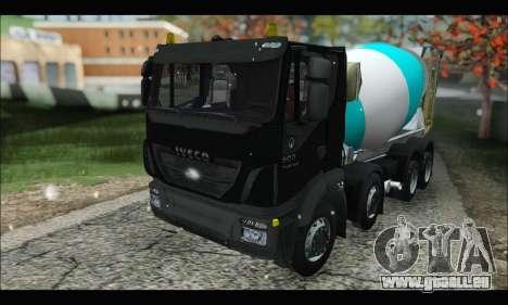 Iveco Trakker 2014 Concrete Snow (IVF & ADD) für GTA San Andreas
