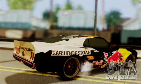 Ford Mustang RTR RedBull pour GTA San Andreas laissé vue