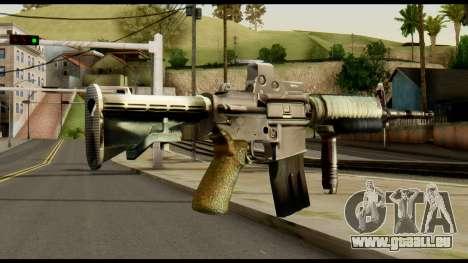 SOPMOD from Metal Gear Solid v3 pour GTA San Andreas deuxième écran