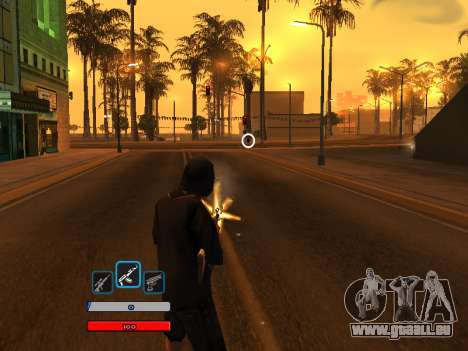 C-HUD by Fawkes (Fix) v2 pour GTA San Andreas