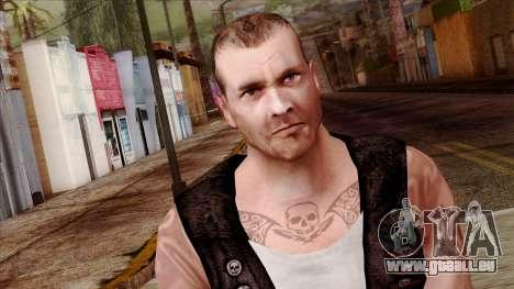 GTA 4 Skin 56 pour GTA San Andreas troisième écran