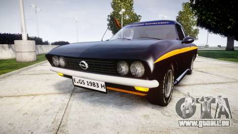 Opel Manta A Black Magic pour GTA 4