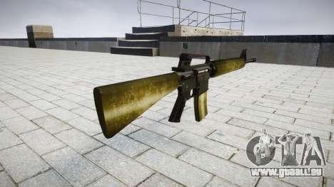 Die M16A2 Gewehr olive für GTA 4 Sekunden Bildschirm