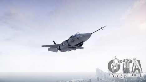 Lockheed F-35B Lightning II pour GTA 4 Vue arrière de la gauche