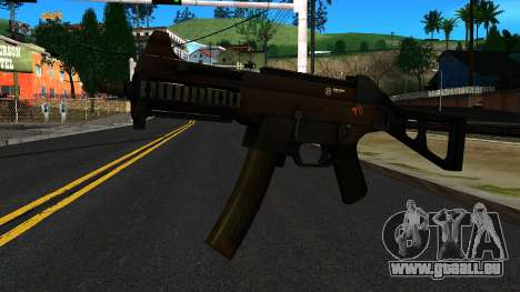UMP9 from Battlefield 4 v2 pour GTA San Andreas