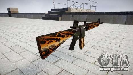 Le M16A2 fusil tigre pour GTA 4 secondes d'écran