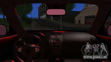 Nissan Juke 2012 für GTA San Andreas zurück linke Ansicht