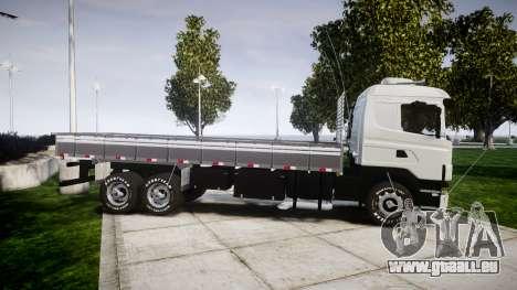 Scania 124G 400 pour GTA 4 est une gauche