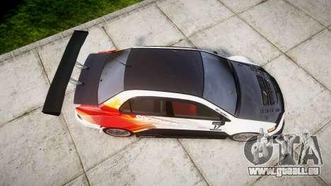 Mitsubishi Lancer Evolution IX HQ für GTA 4 rechte Ansicht
