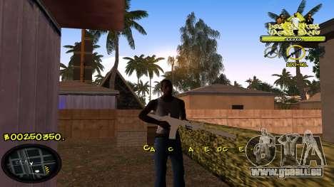 C-HUD Vagos für GTA San Andreas zweiten Screenshot