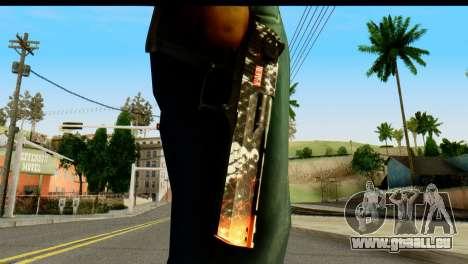 Kill Em All Desert Eagle für GTA San Andreas dritten Screenshot