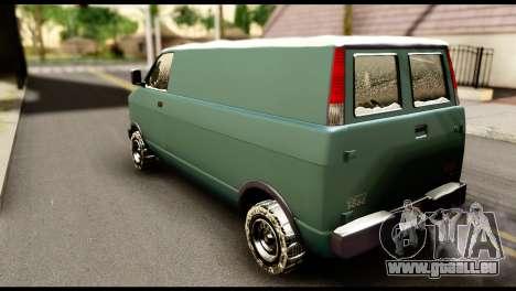 GTA 5 Burrito pour GTA San Andreas laissé vue