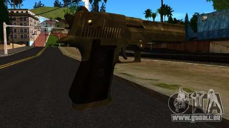 Desert Eagle from GTA 4 für GTA San Andreas zweiten Screenshot
