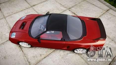 Honda NSX-R für GTA 4 rechte Ansicht