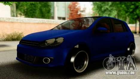 Volkswagen Golf 5 für GTA San Andreas
