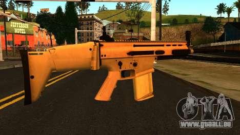 FN SCAR-H from Medal of Honor: Warfighter für GTA San Andreas zweiten Screenshot