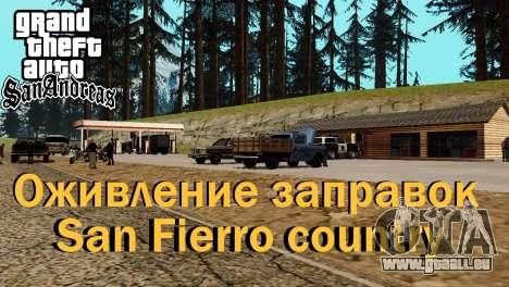 Récupération des stations de San Fierro Pays pour GTA San Andreas