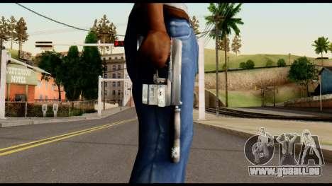 Silenced Socom from Metal Gear Solid pour GTA San Andreas troisième écran
