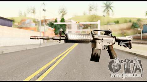 M4 from Metal Gear Solid pour GTA San Andreas