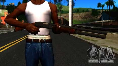 En bois MP-133 Silver pour GTA San Andreas troisième écran