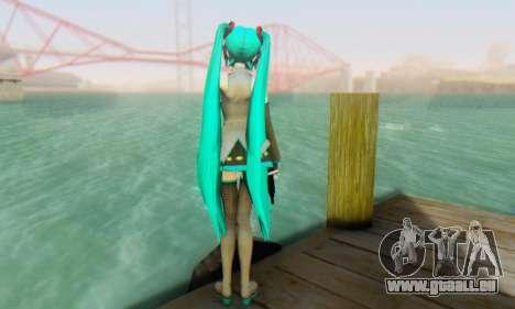 Hatsune Miku Dreamy Theater für GTA San Andreas fünften Screenshot