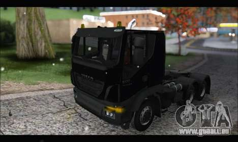 Iveco Trakker 2014 Snow (IVF & ADD) pour GTA San Andreas