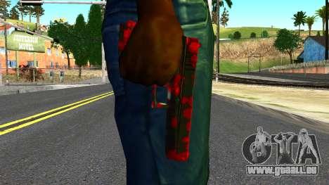 Pistol with Blood für GTA San Andreas dritten Screenshot