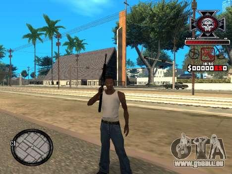 C-HUD for Ghetto für GTA San Andreas