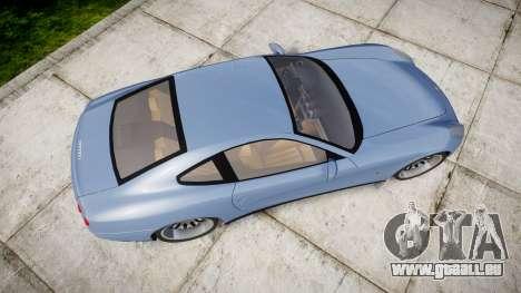 Ferrari 612 2007 Hamann pour GTA 4 est un droit