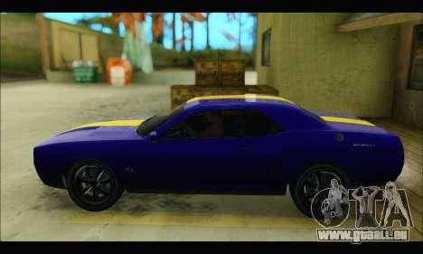 Bravado Gauntlet (GTA V) pour GTA San Andreas sur la vue arrière gauche
