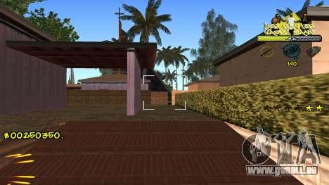 C-HUD Vagos pour GTA San Andreas