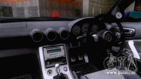 Nissan Silvia S15 Stock pour GTA San Andreas sur la vue arrière gauche