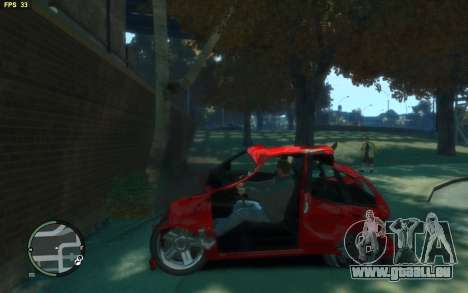 Big Car Damage für GTA 4 Sekunden Bildschirm