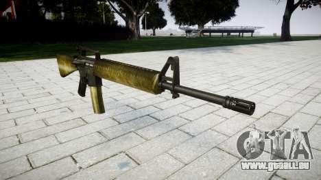 Die M16A2 Gewehr olive für GTA 4