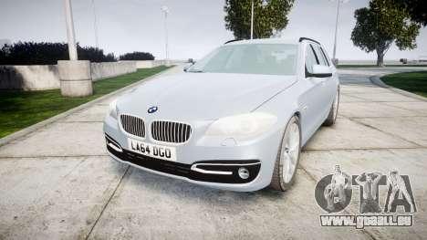 BMW 525d F11 2014 Facelift [ELS] Unmarked pour GTA 4