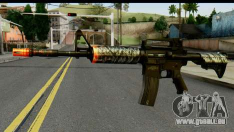 Kill Em All M4 pour GTA San Andreas