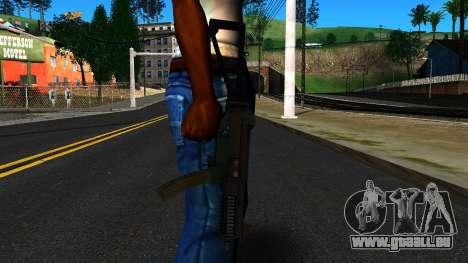 UMP9 from Battlefield 4 v2 für GTA San Andreas dritten Screenshot