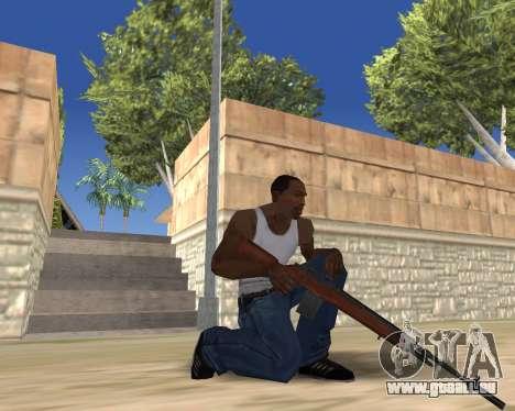 HD Weapon Pack pour GTA San Andreas neuvième écran