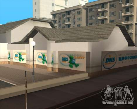 Remplacement de la publicité (bannières) pour GTA San Andreas neuvième écran