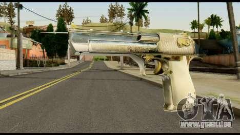 Desert Eagle from Max Payne für GTA San Andreas