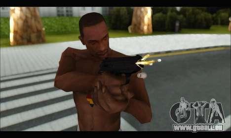GTA ONLINE: SNS Pistol pour GTA San Andreas quatrième écran