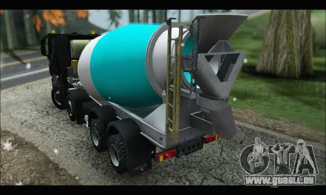 Iveco Trakker 2014 Concrete Snow (IVF & ADD) pour GTA San Andreas