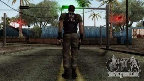 Resident Evil Skin 2 pour GTA San Andreas deuxième écran