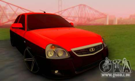 Lada Priora Glers Project pour GTA San Andreas