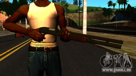 En bois MP-133 avec des Paillettes pour GTA San Andreas