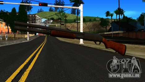 Holz-MP-133 Silber für GTA San Andreas