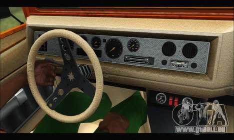 Canis Bodhi (GTA V) (FIV & АПП) pour GTA San Andreas vue arrière