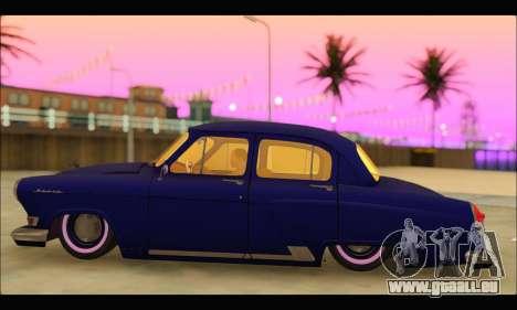 GAZ 21 Volga Resto für GTA San Andreas linke Ansicht